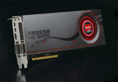 Видеокарта Sapphire Radeon HD 6950 1 ГБ