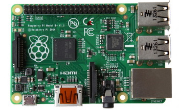 Raspberry Pi модель B+