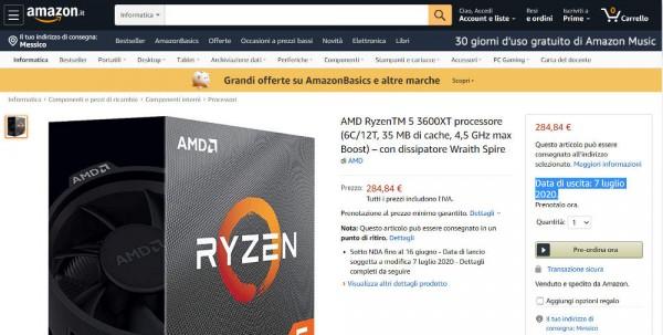 AMD Ryzen 5 3600XT и Ryzen 9 3900XT
