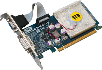 Видеокарта S3 Chrome eH1
