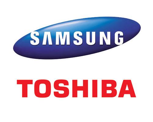 Samsung и Toshiba разработают новую память типа NAND