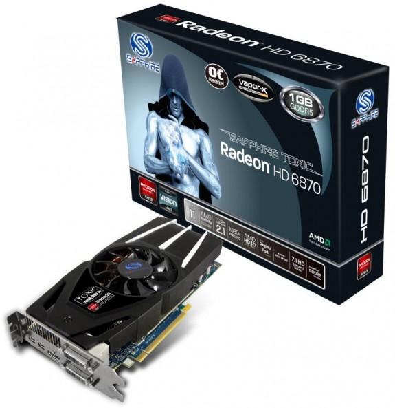Видеокарта Sapphire Radeon HD 6870 Toxic
