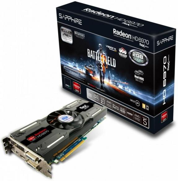 Sapphire Radeon HD 6970 BF3 Special Edition