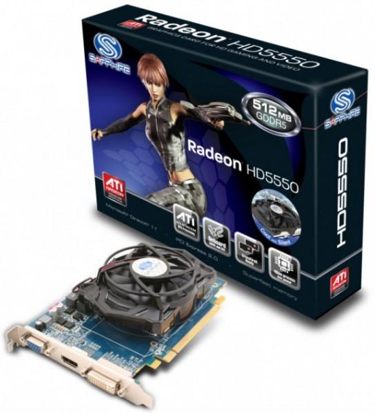 Sapphire Radeon HD 5500