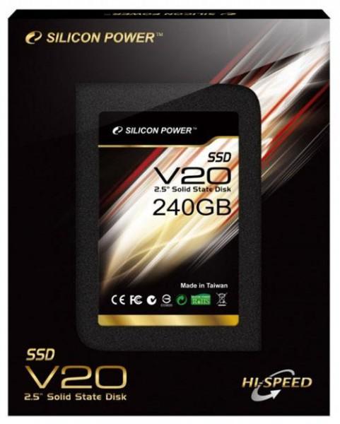 SSD-накопитель Silicon Power V20