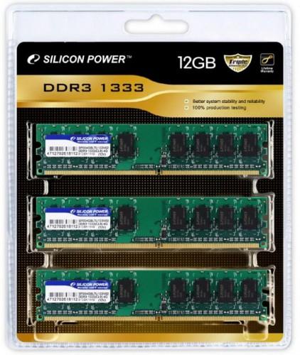 Набор оперативной памяти Silicon Power DDR3-1333 12 ГБ