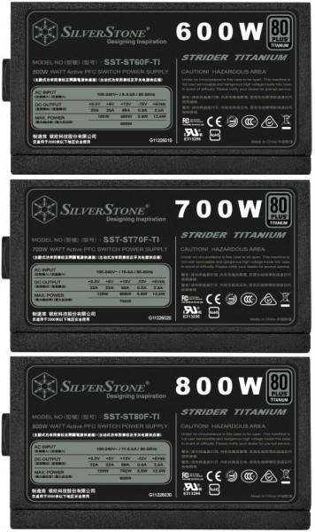 SilverStone Strider Titanium