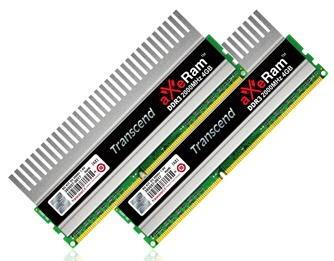 Наборы памяти Transcend aXeRam DDR3-2000 8 ГБ