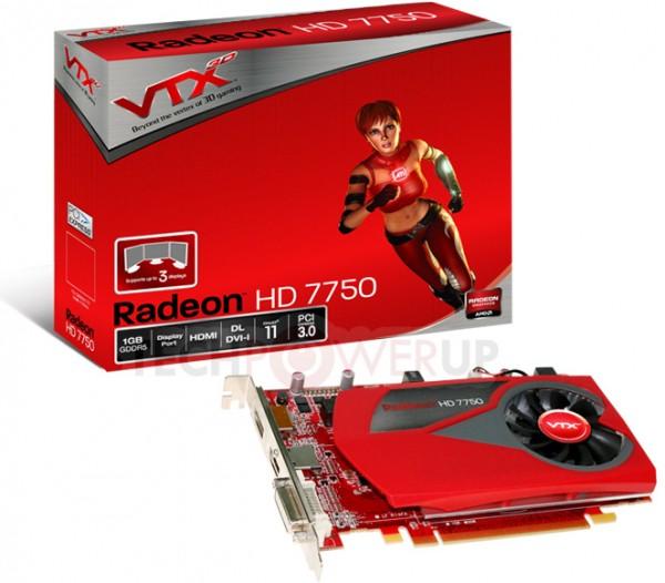 VTX3D HD7750