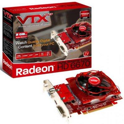 VTX3D HD 6670 Digital Streamer Edition