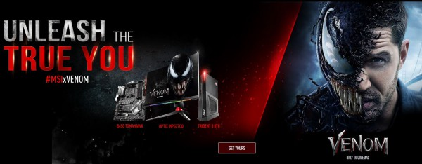 MSI x Venom  Unleash the True You