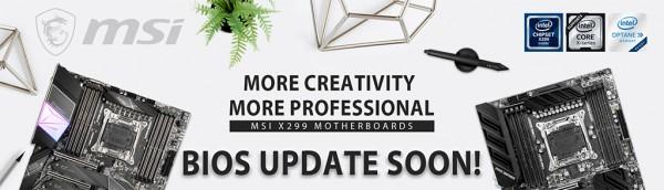 MSI, обновление, BIOS, Cascade Lake-X, Core i9-10980XE, Core i9-10940X, Core i9-10920X, Core i9-10900X