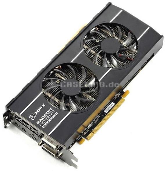 Видеокарта XFX Radeon HD 6870 Black Edition
