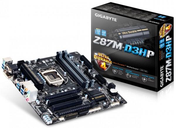 Gigabyte GA-Z87M-D3HP
