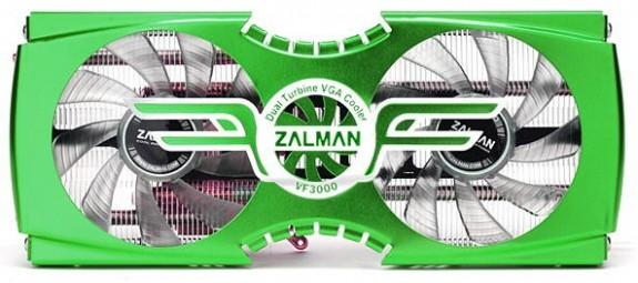 VGA-кулер Zalman VF3000F NVIDIA GF110