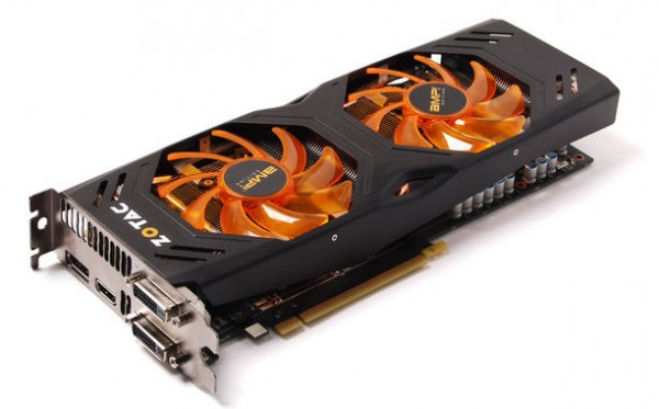Zotac GeForce GTX 680 AMP! Edition с кулером Dual Silencer