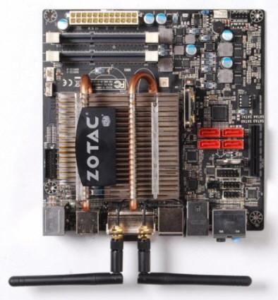 Материнская плата ZOTAC FUSION-ITX WiFi A-series