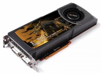 Видеокарта ZOTAC GeForce GTX 580 AMP!