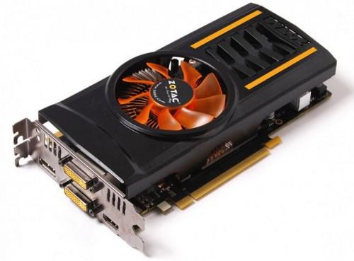 Видеокарта Zotac GeForce GTX 460 2 ГБ