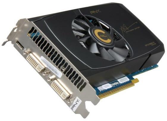 PNY представила в Европе видеокарту GeForce GTX 550 Ti XLR8 OC