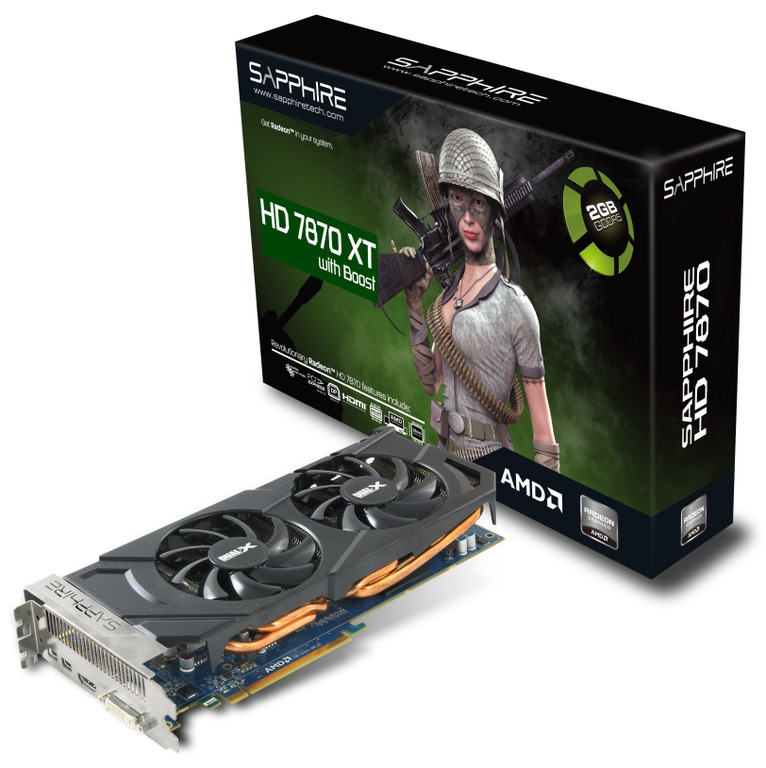 Sapphire, Radeon HD 7870 XT with Boost