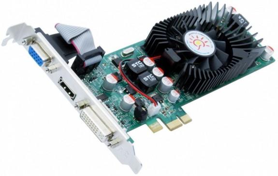 Ставим вторую видеокарту в разъём PCI-Express x1