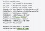AMD Radeon HD 8000