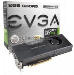 EVGA GeForce GTX 760 FTW Superclocked 2GB