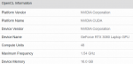 NVIDIA GeForce RTX 3080 Mobile