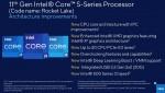 Intel, Rocket Lake-S, Core i9-11900K, Core i7-11700K, Core i5-11600K, i5-11400
