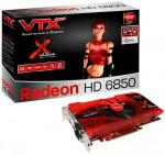 Видеокарта VTX3D Radeon HD 6850 X Edition
