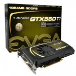 Видеокарта EVGA GeForce GTX 560 Ti