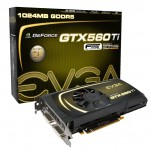 Видеокарта EVGA GeForce GTX 560 Ti SuperClocked