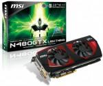 Видеокарта MSI N480GTX Lightning