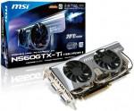 Видеокарта MSI N560GTX-Ti Twin Frozr II OC