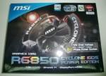 Видеокарта MSI Radeon HD 6850 Cyclone Power Edition