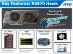 Видеокарта MSI R6870 Hawk