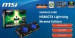 Видеокарта MSI N580GTX Lightning Xtreme Edition