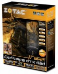 Видеокарта ZOTAC GeForce GTX 580 AMP!