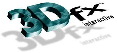 Старый логотип компании 3Dfx interactive inc.