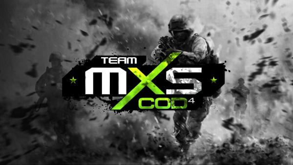 Логотип киберспортивной команды MXS.COD4